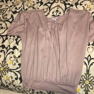Candies Dusty Rose Blouse